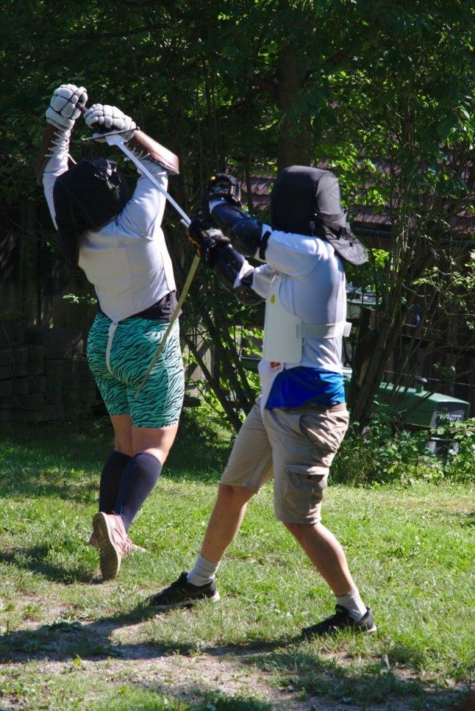Schwertkampf freies Gefecht